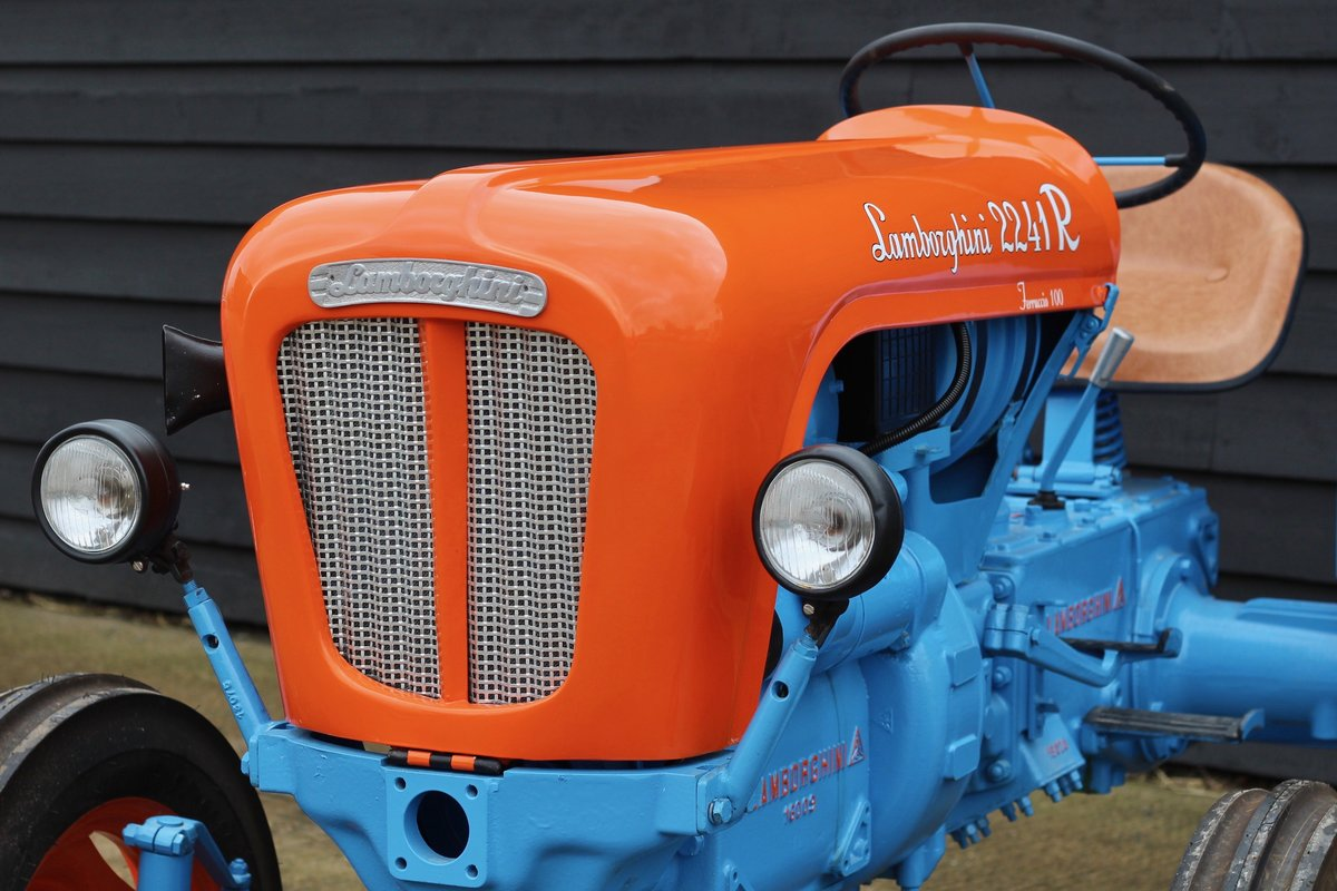 1960 BEAUTIFUL LAMBORGHINI TRACTOR T224 1R For Sale (picture 6 of 6)