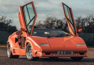 1990 Lamborghini Countach 25th Anniversary, 1 owner, 3962 miles