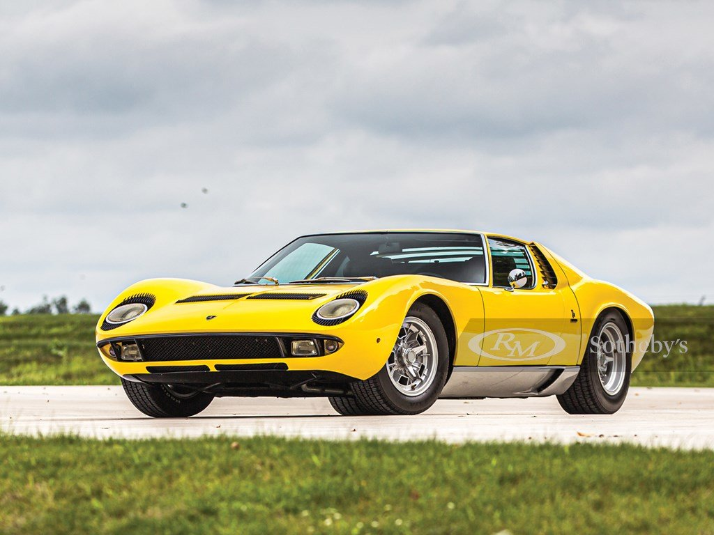 1969 Lamborghini Miura P400 S by Bertone For Sale by Auction (picture 1 of 6)