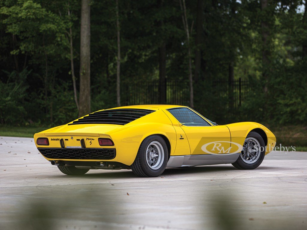 1969 Lamborghini Miura P400 S by Bertone For Sale by Auction (picture 2 of 6)