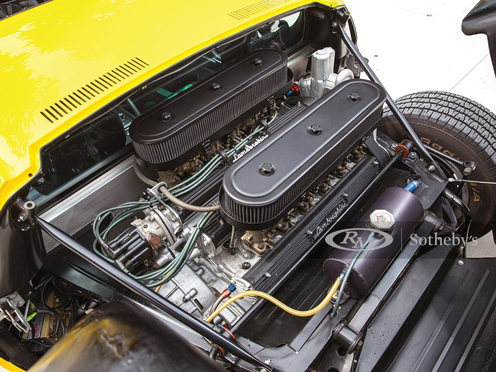 1969 Lamborghini Miura P400 S by Bertone For Sale by Auction (picture 3 of 6)