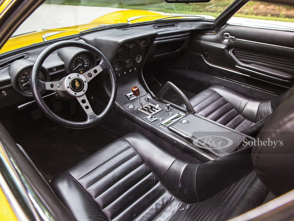 1969 Lamborghini Miura P400 S by Bertone For Sale by Auction (picture 4 of 6)
