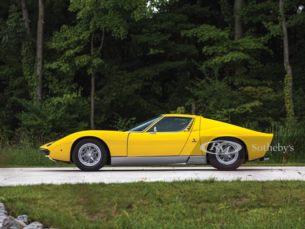 1969 Lamborghini Miura P400 S by Bertone For Sale by Auction (picture 5 of 6)