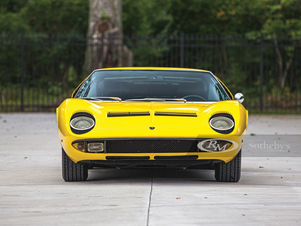 1969 Lamborghini Miura P400 S by Bertone For Sale by Auction (picture 6 of 6)