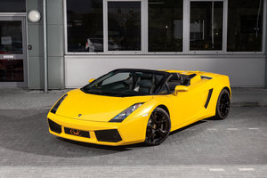 Picture of Lamborghini Gallardo Spyder 2008/08 SOLD