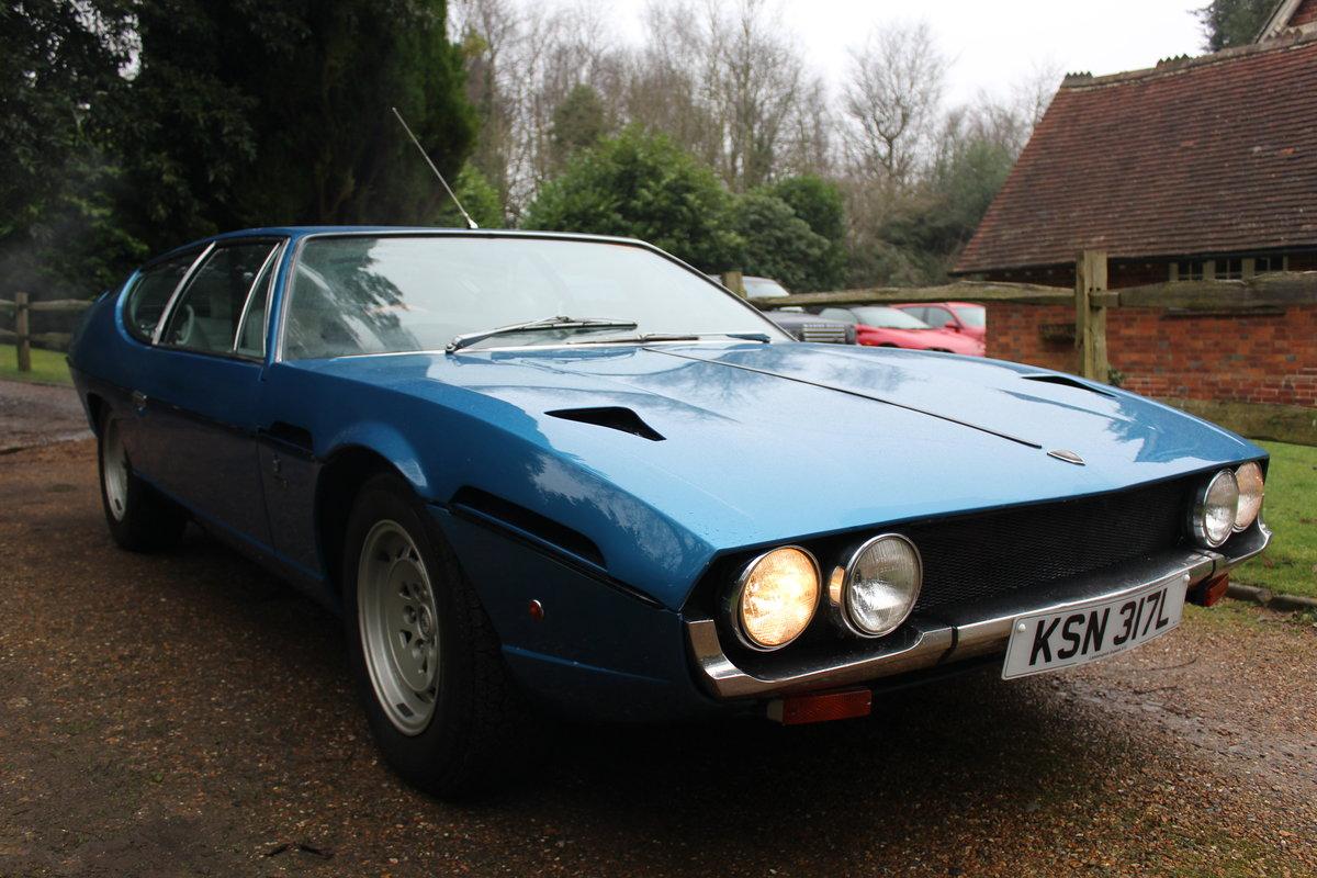 *RARE* 1972 Lamborghini Espada (RIGHT HAND DRIVE) 21K MILES For Sale (picture 1 of 1)