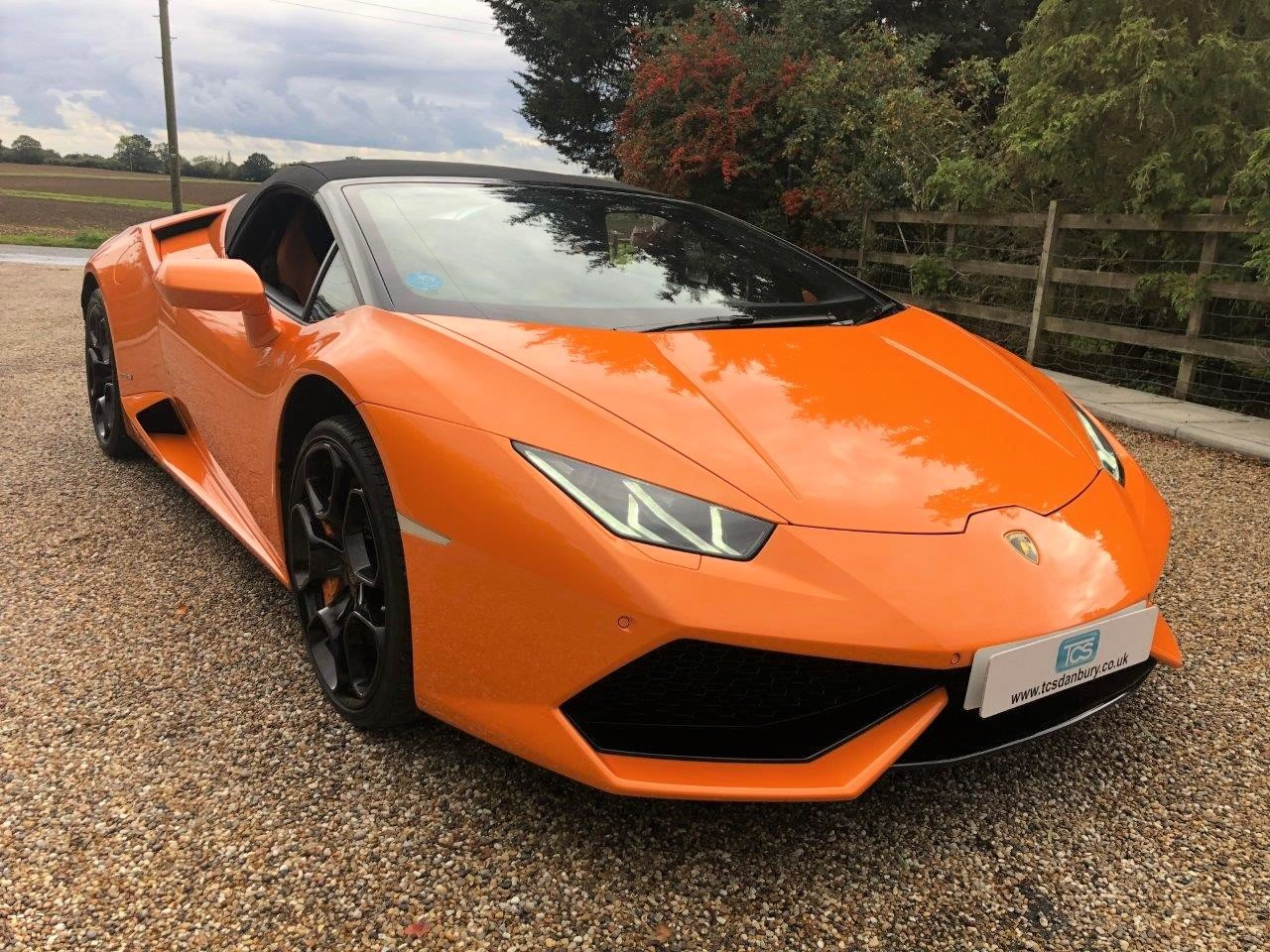 2017 Lamborghini Huracan LP610-4 AWD Spyder  For Sale (picture 1 of 6)