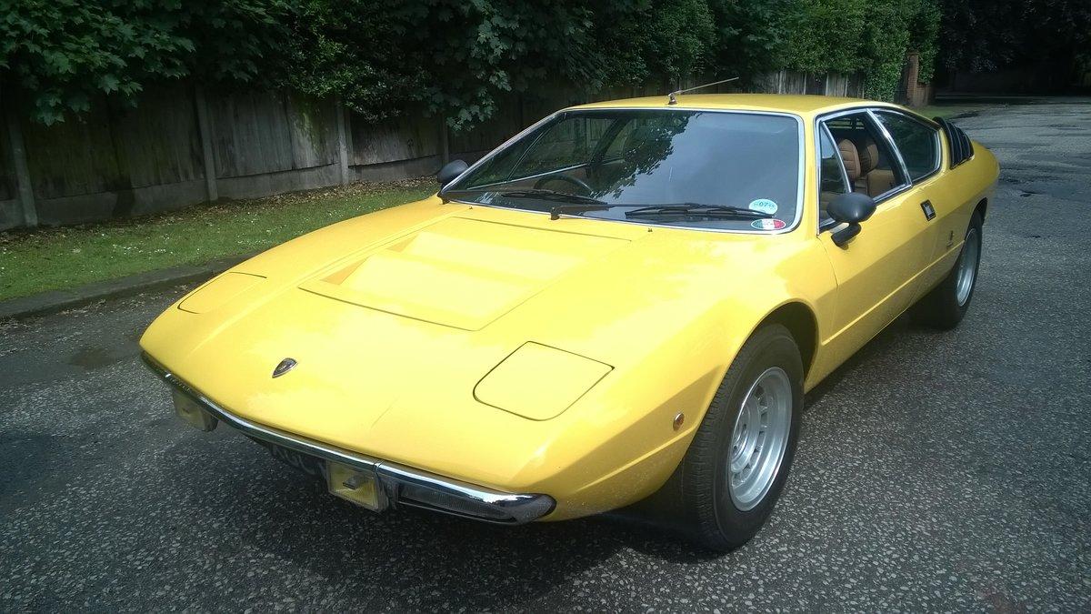 1974 RHD Lamborghini Urraco P250S For Sale (picture 3 of 6)