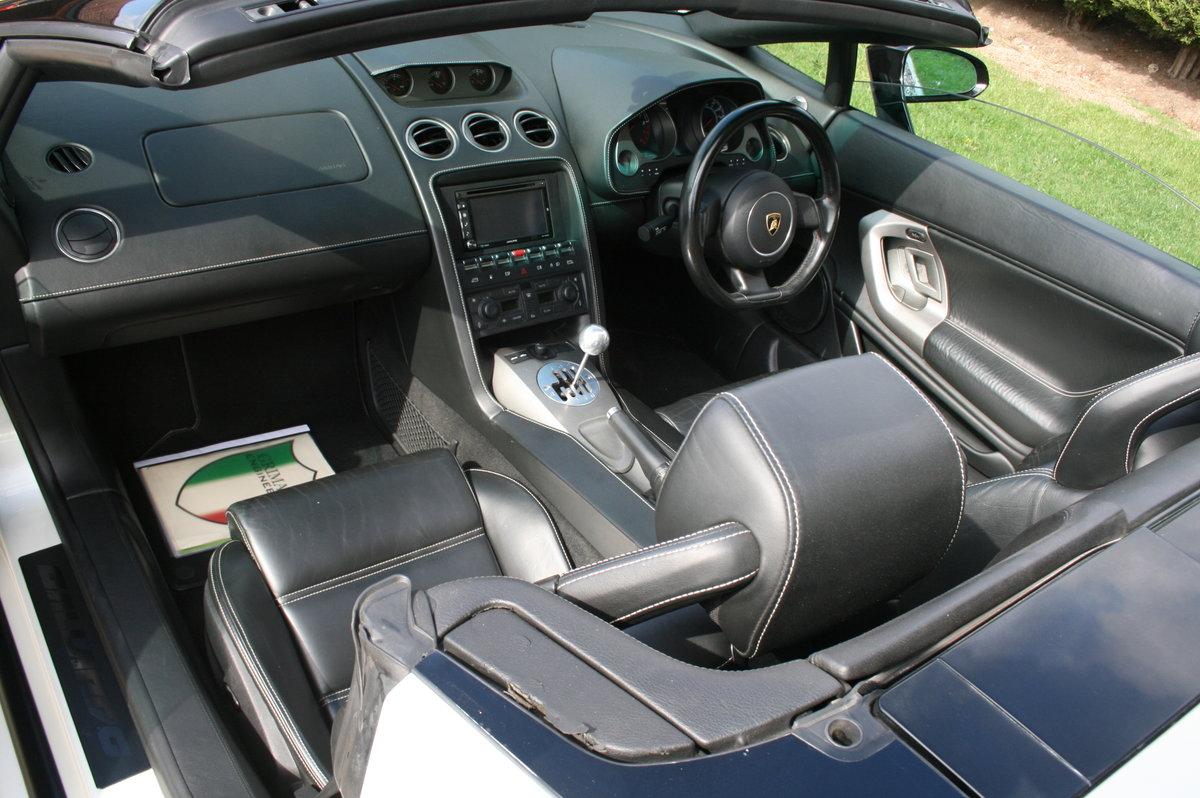 2006 Lamborghini Gallardo 5.0 V10 520bhp Spyder.Rare  Manual For Sale (picture 6 of 6)