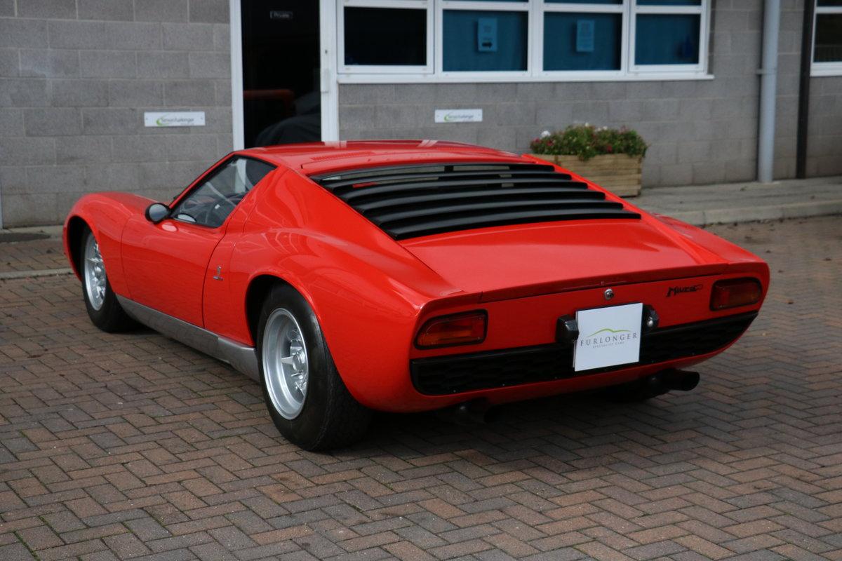 1967 Lamborghini Miura P400 - S Specification For Sale (picture 7 of 12)