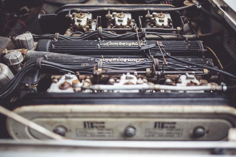 1967 Lamborghini 400GT 2+2 in true preserved condition For Sale (picture 6 of 9)