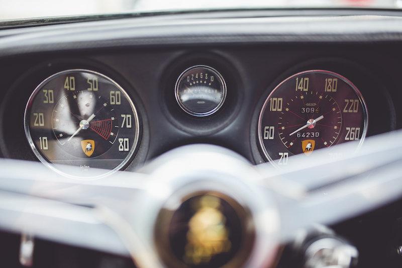 1967 Lamborghini 400GT 2+2 in true preserved condition For Sale (picture 8 of 9)