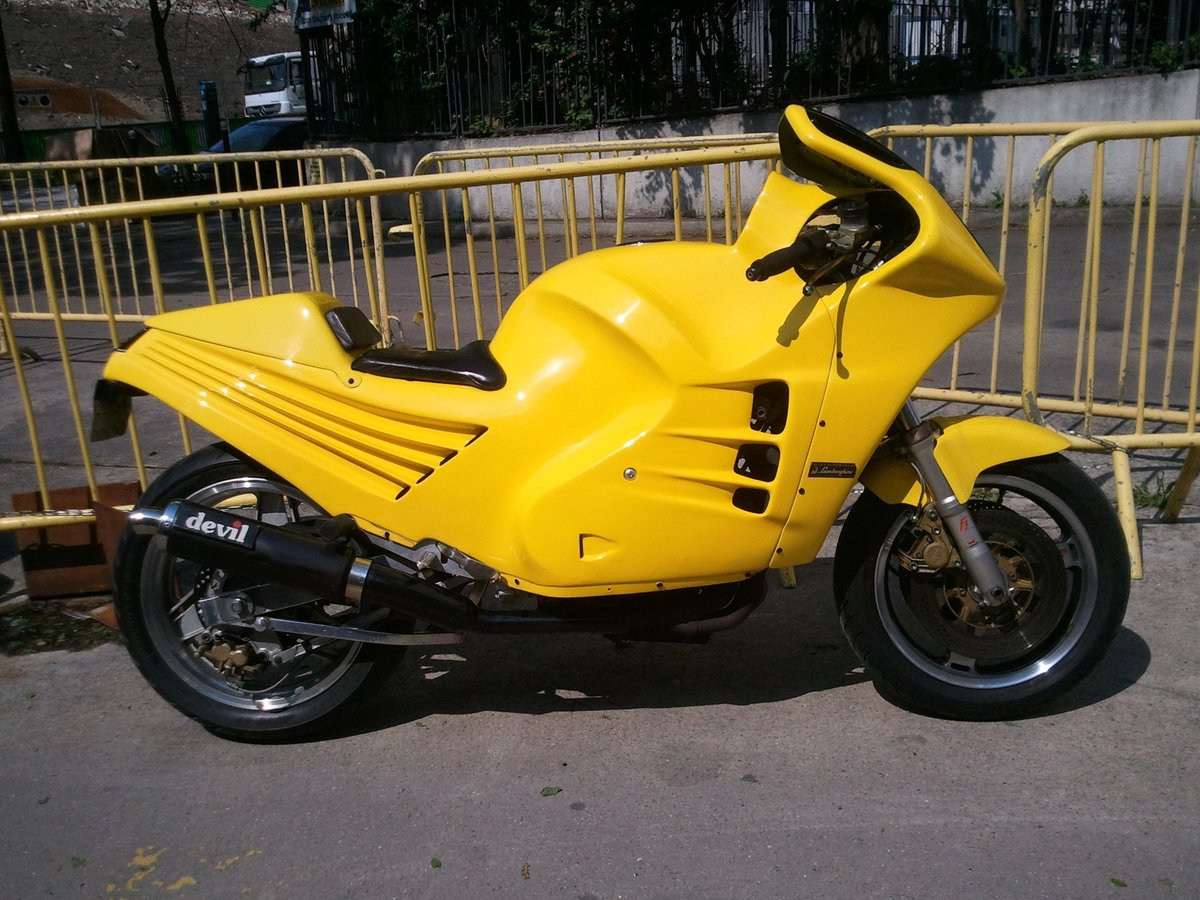1989 The mythical Lamborghini Motorcycle For Sale (picture 3 of 12)