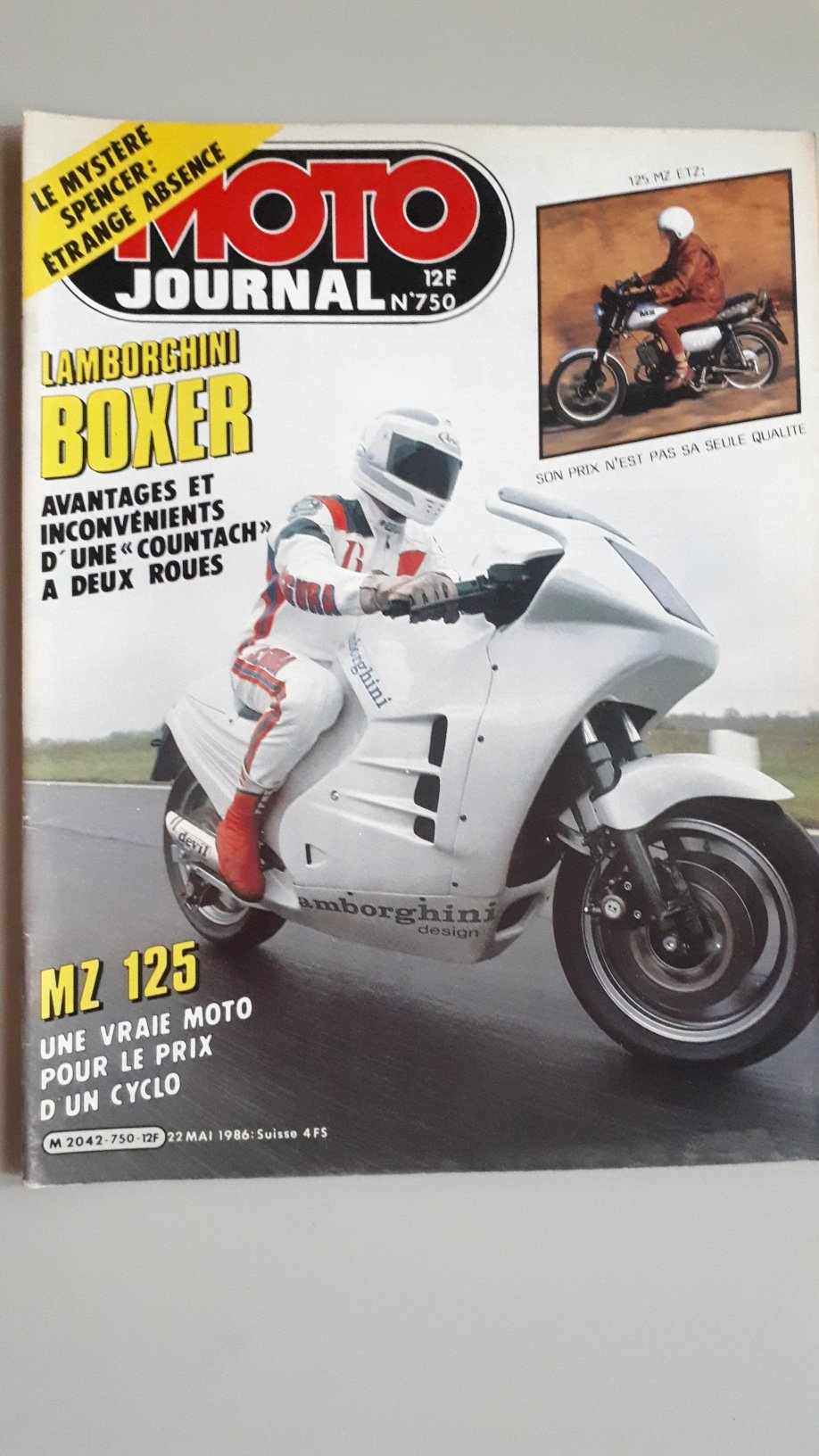 1989 The mythical Lamborghini Motorcycle For Sale (picture 6 of 12)