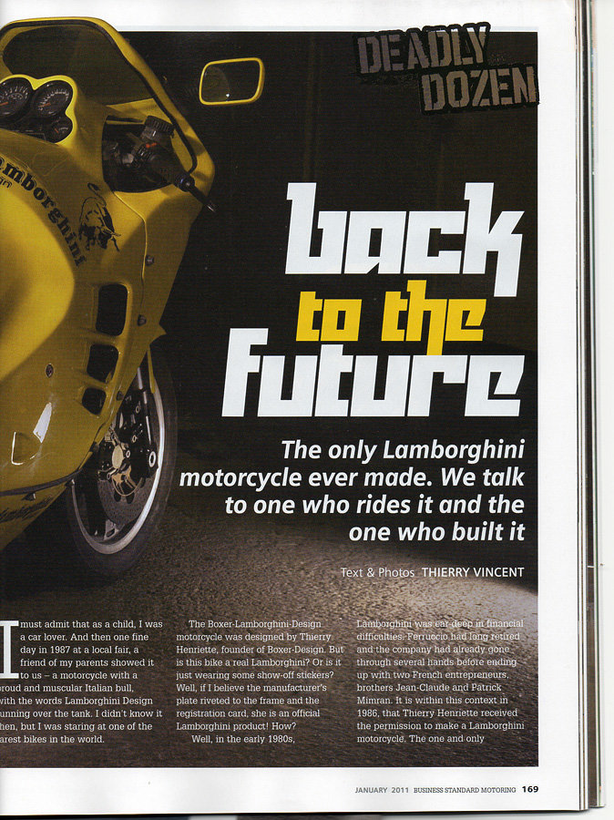 1989 The mythical Lamborghini Motorcycle For Sale (picture 10 of 12)