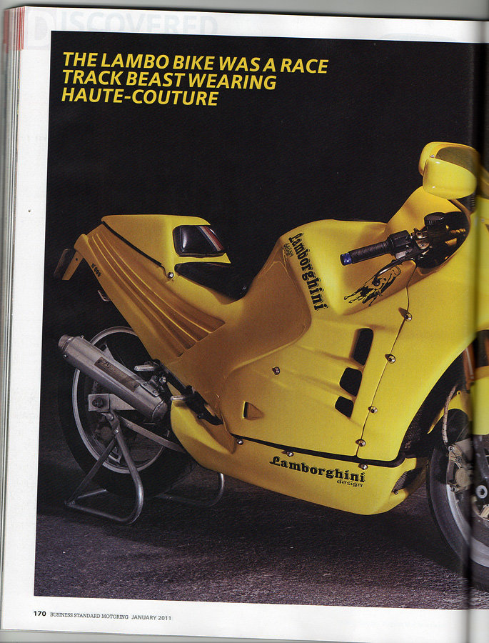 1989 The mythical Lamborghini Motorcycle For Sale (picture 11 of 12)