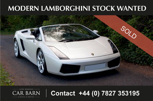 Picture of 2008 Modern Lamborghini Stock Wanted For Sale