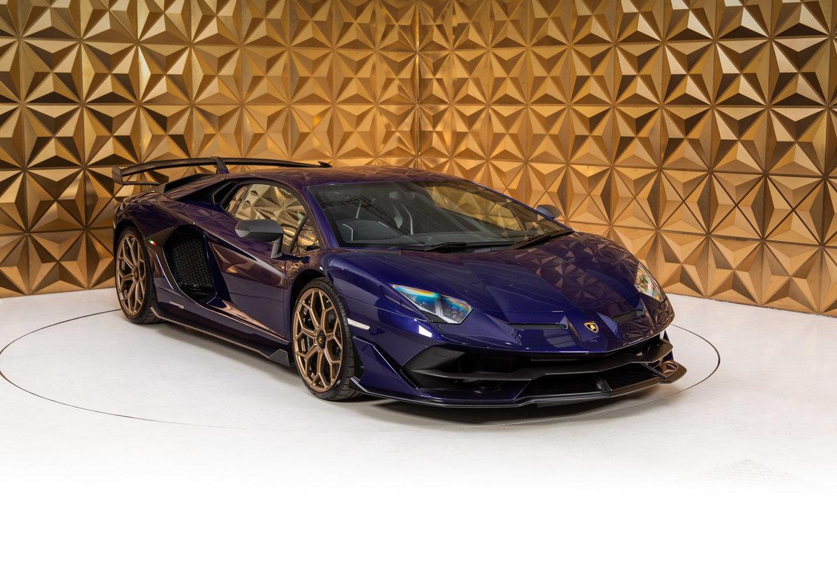 2018 Lamborghini Aventador SVJ SOLD (picture 1 of 12)