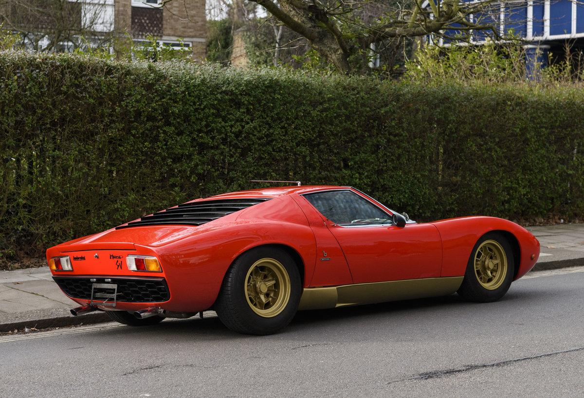 1971 Lamborghini Miura P400 SV (LHD) For Sale (picture 5 of 47)