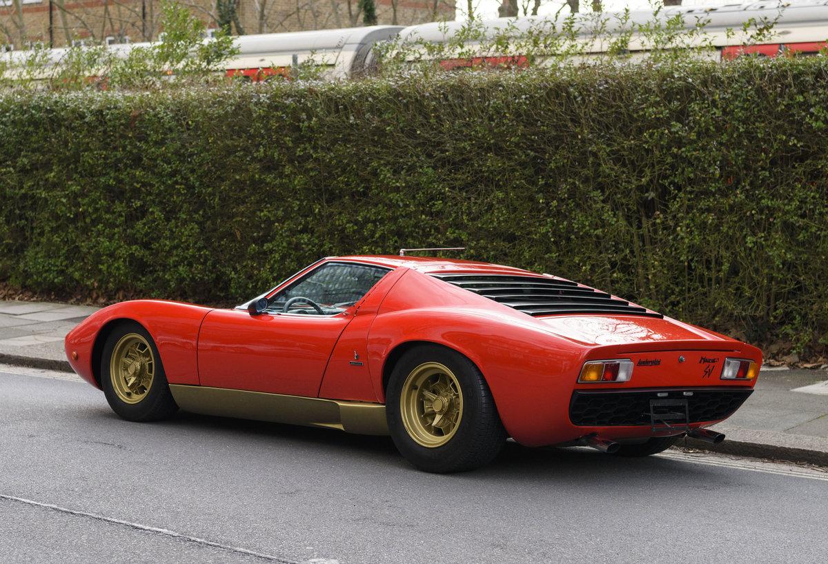 1971 Lamborghini Miura P400 SV (LHD) For Sale (picture 6 of 47)