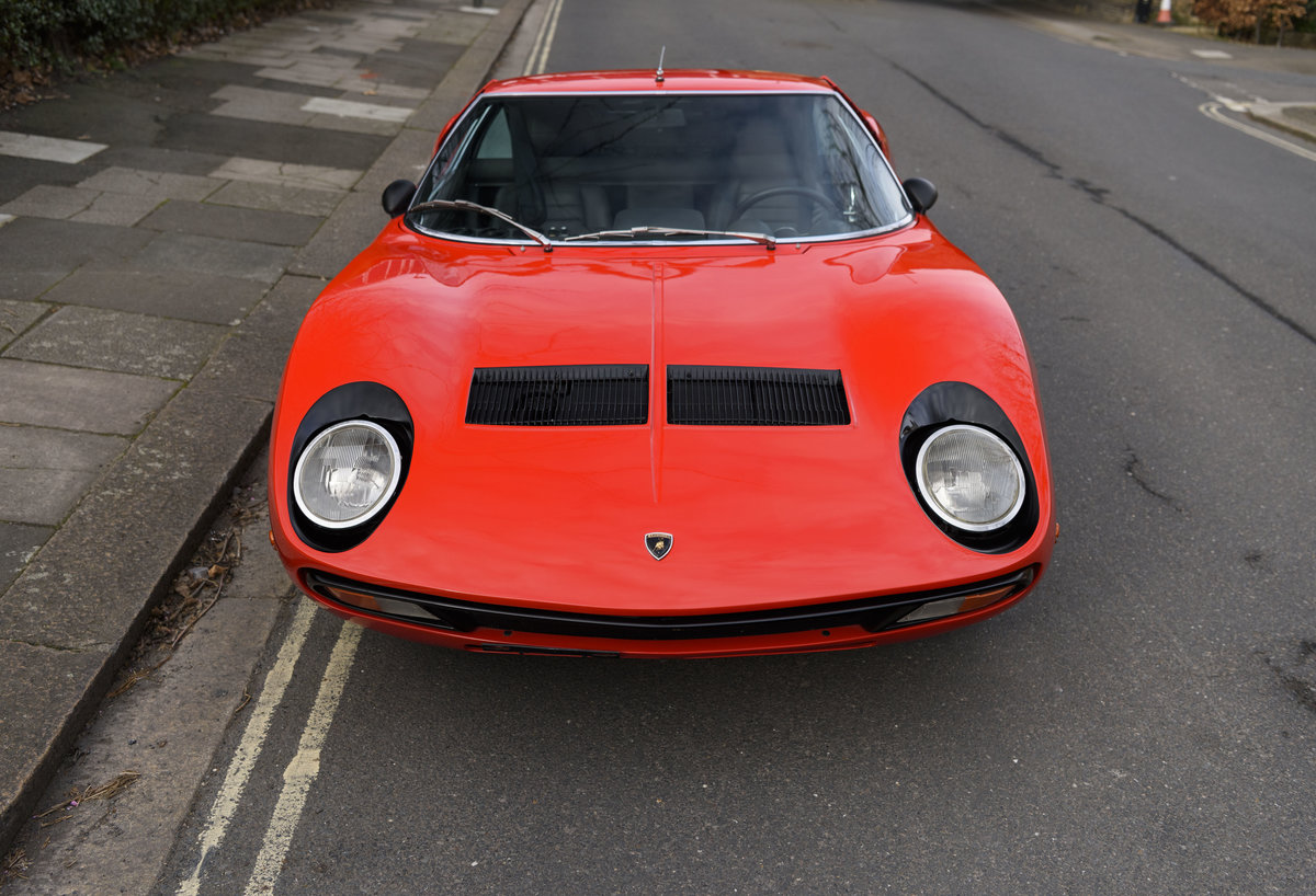1971 Lamborghini Miura P400 SV (LHD) For Sale (picture 7 of 47)