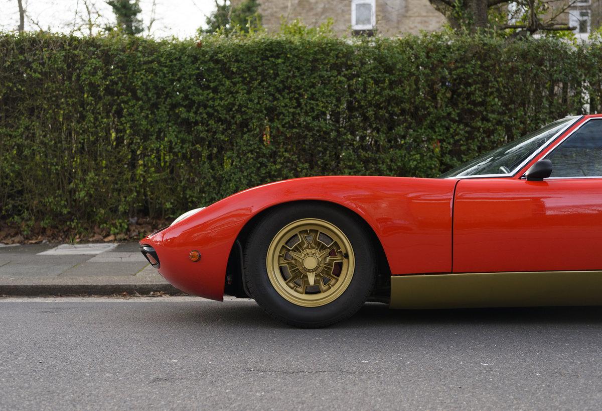 1971 Lamborghini Miura P400 SV (LHD) For Sale (picture 13 of 47)
