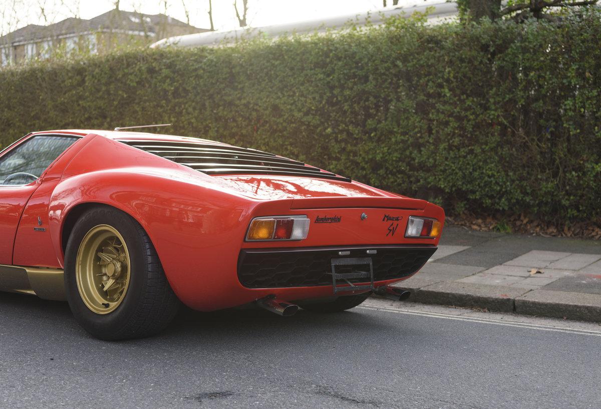 1971 Lamborghini Miura P400 SV (LHD) For Sale (picture 20 of 47)