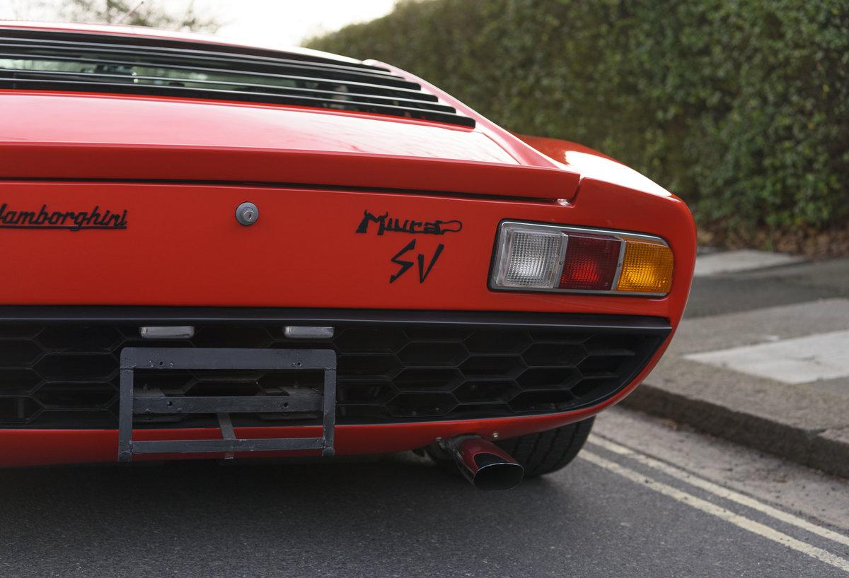 1971 Lamborghini Miura P400 SV (LHD) For Sale (picture 22 of 47)