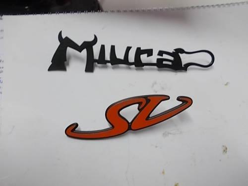 Lamborghini Miura Sv Emblem For Sale Car And Classic