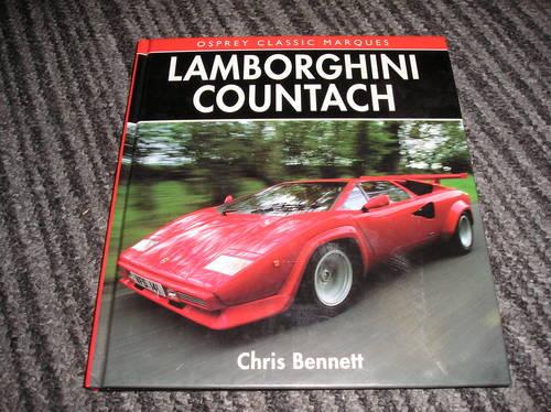 0000 lamborghini countach hardback book For Sale (picture 1 of 2)