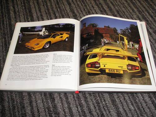 0000 lamborghini countach hardback book For Sale (picture 2 of 2)