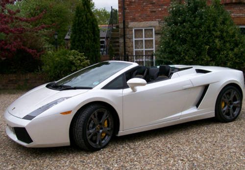 Lamborghini Gallardo Roadster For Hire Car And Classic