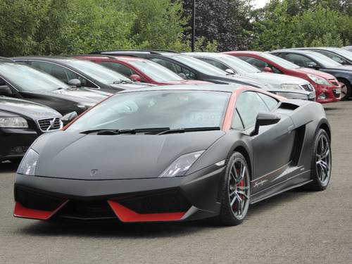 2013 Lamborghini Gallardo 5 2 2dr Lp 570 4 Superleggera Ltd Edn For