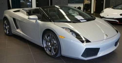 2008 Lamborghini Gallardo Convertible For Sale (picture 1 of 2)