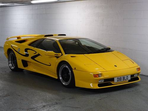 1996 Lamborghini Diablo 5.7 SV ** VERY RARE GENUINE SV UK CAR ** For Sale (picture 1 of 6)
