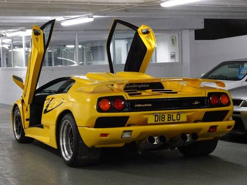 1996 Lamborghini Diablo 5.7 SV ** VERY RARE GENUINE SV UK CAR ** For Sale (picture 3 of 6)
