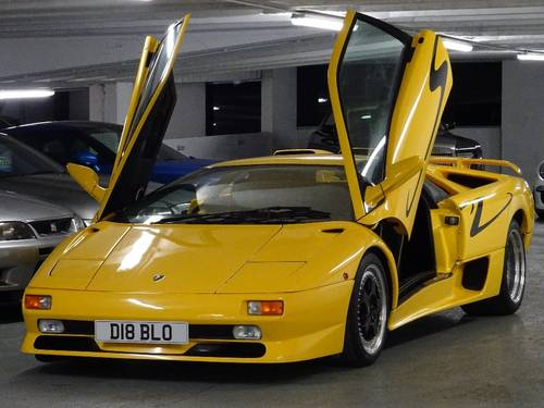 1996 Lamborghini Diablo 5.7 SV ** VERY RARE GENUINE SV UK CAR ** For Sale (picture 4 of 6)