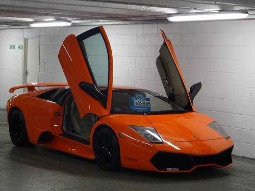 2008 Lamborghini Murcielago LP640 E GEAR COUPE RHD LOW MILES 6.5  For Sale (picture 1 of 6)