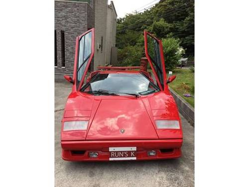 1989 Lamborghini Countach 25th Anniversary Carburated SOLD (picture 1 of 6)