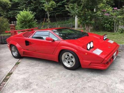 1989 Lamborghini Countach 25th Anniversary Carburated SOLD (picture 2 of 6)