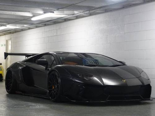 2012 Lamborghini Aventador 6.5 V12 LP 700-4 4WD 2dr LIBERTY WALK For Sale (picture 1 of 6)