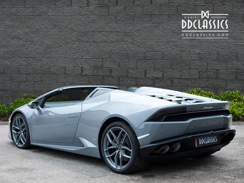 2017 Lamborghini Huracan LP610-4 Spyder (VAT QUAL) (RHD) For Sale (picture 2 of 6)