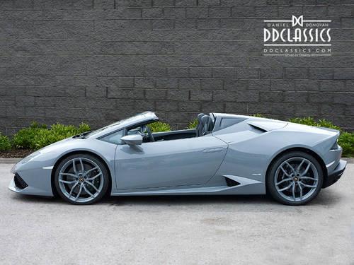 2017 Lamborghini Huracan LP610-4 Spyder (VAT QUAL) (RHD) For Sale (picture 3 of 6)