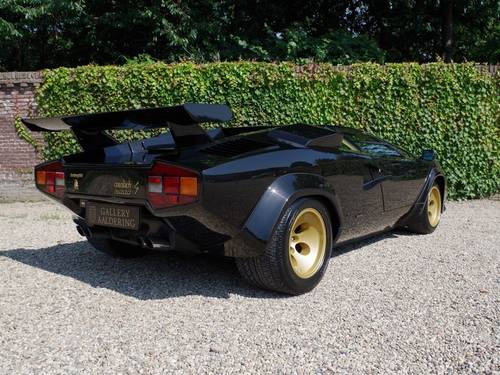 1984 Lamborghini Countach LP 5000S 3 owners only 26.500 KM For Sale (picture 2 of 6)
