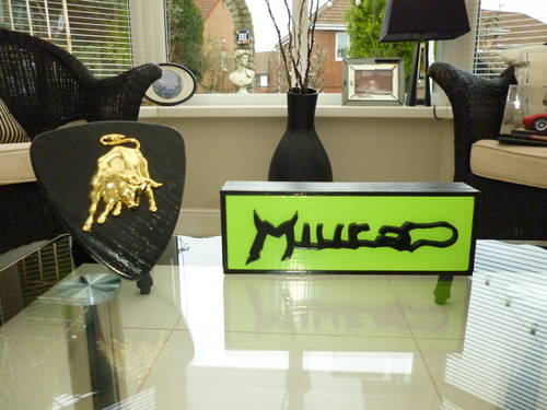 Lamborghini Miura Desk Ornament For Sale (picture 4 of 4)