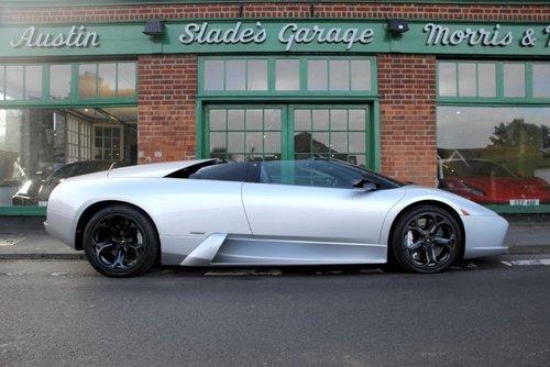2005 Lamborghini Murcielago Roadster SOLD (picture 1 of 5)