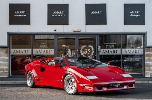 1989 G Lamborghini Countach 25th Anniversary 5.2 V12 For Sale (picture 1 of 6)