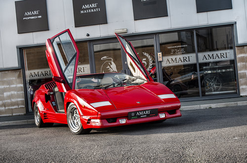 1989 G Lamborghini Countach 25th Anniversary 5.2 V12 For Sale (picture 2 of 6)