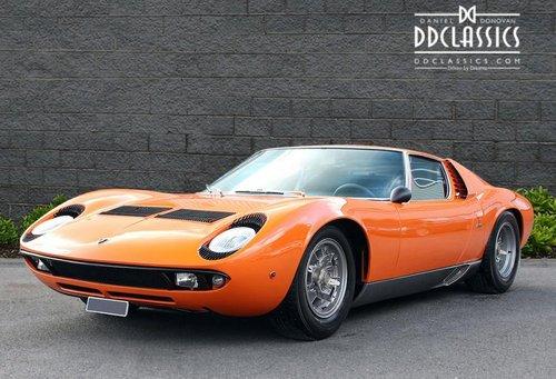 1970 Lamborghini Miura P400s Lhd Sold Car And Classic