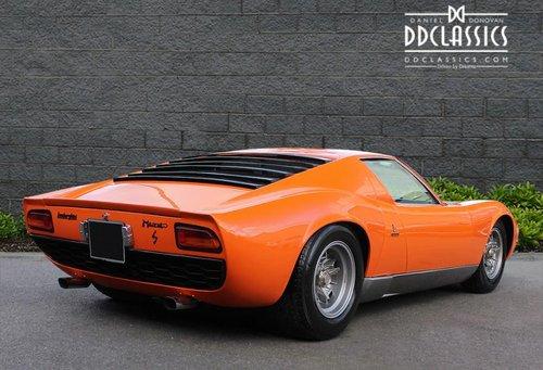 1970 Lamborghini Miura P400S (LHD) SOLD (picture 2 of 6)